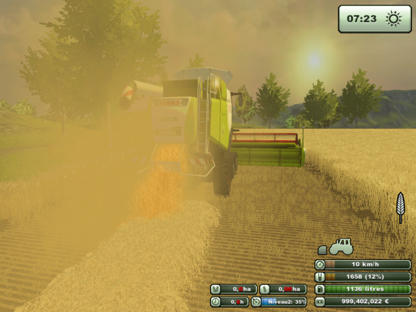 Claas lexion 770 - Farming simulator 2013