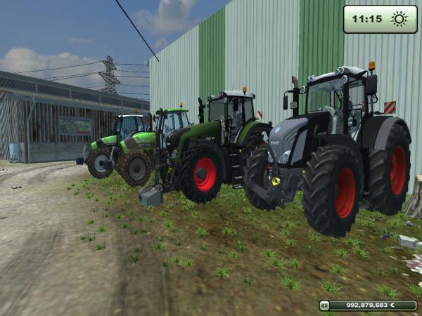 La ferme - Farming simulator 2013.