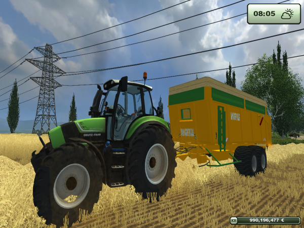 Moisson de blé 2013 - Farming simulator 2013