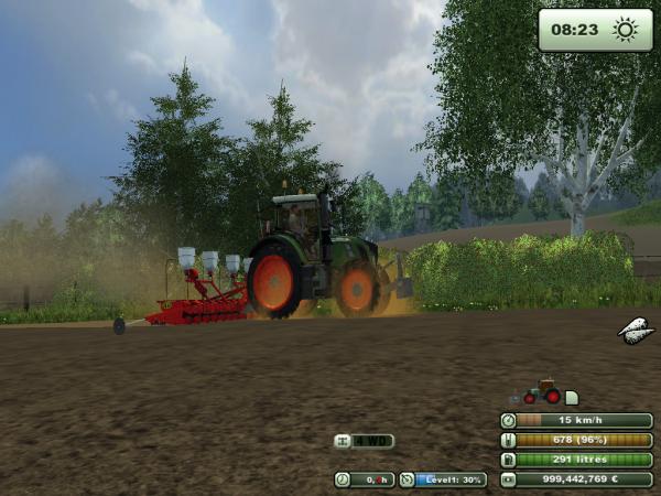 Semis de Pomme de terre - Farming simulator 2013