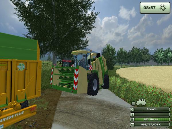 Ensilage - Farming Simulator 2013. [Première parti]