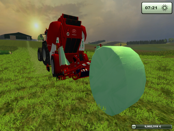 Farming simulator 2013.