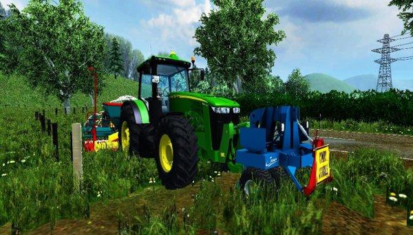 Farming Simulator 2013, semis de blé