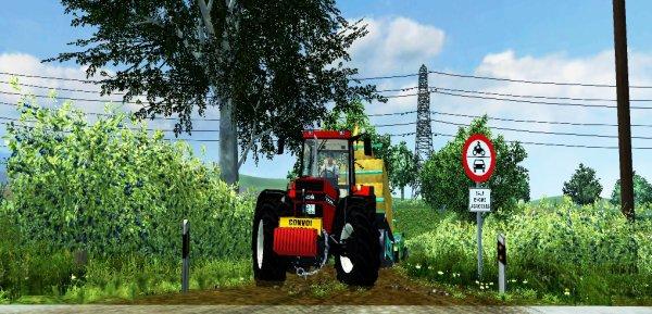 Farming simulator 2013, ramassage des bottes de paille. (2ème parti)