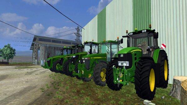 Mes John deere - Farming Simulator 2013