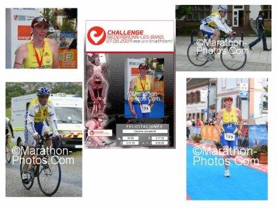 Triathlon Challenge France de Niederbronn le 7 juin 2009.