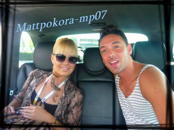 Katrina Patchett et Maxime