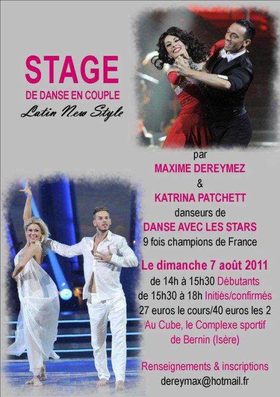 Katrina & Max leur stage