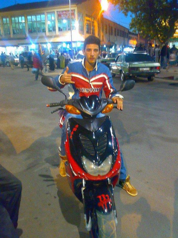 in bike ;)
