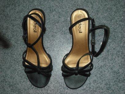 Chaussure été talon compensé