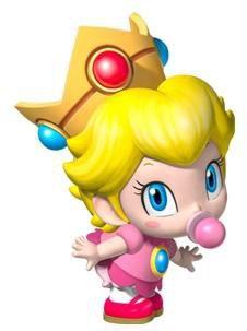 Jeux n°2: Bébé Peach