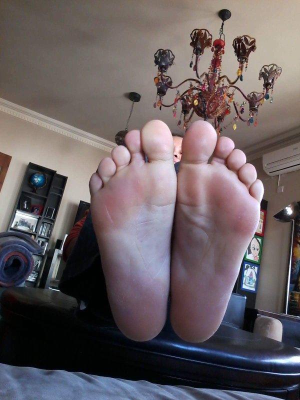 Les jolie pied de Sandra