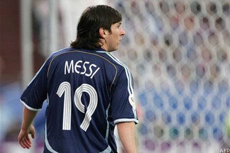 Messi le nouveau Maradona