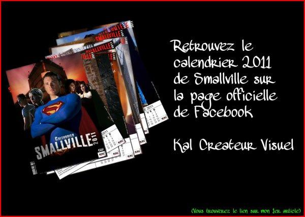 Retrouvez le calendrier 2011 Smallville By Kal Createur Visuel