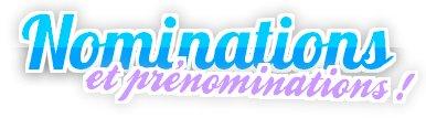 Nominations ... et prénominations !