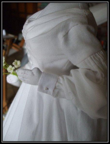 robe romantique 1837