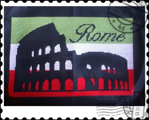 je suis partie en voyage, destination: Rome