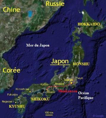 Déjà une petite présentation du japon ...
