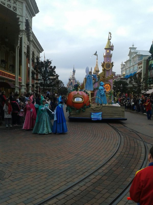 Ma journée à Disneyland Paris