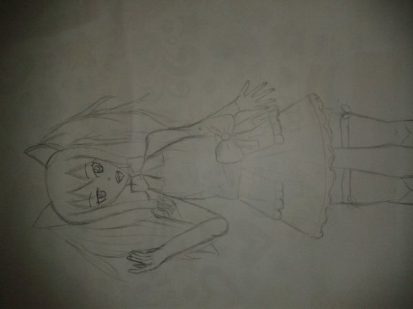 Dessin Wendy Marvell