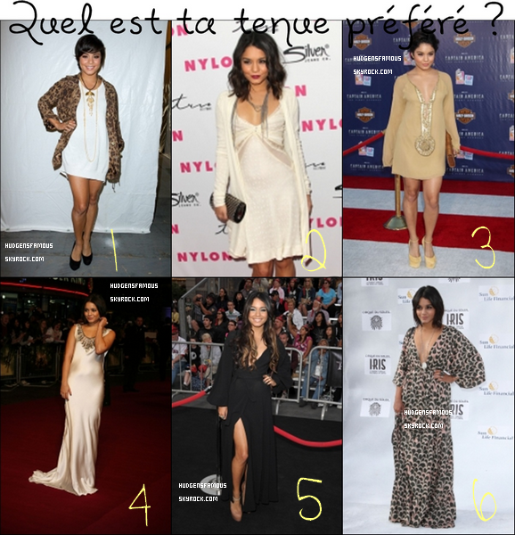 Quel est ta tenue préféré ?