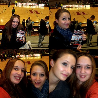 Novembre 2011: Harvard Basketball game