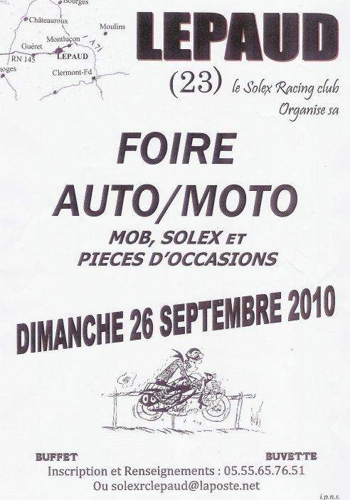 FOIRE A LA MOTO, MOB ET SOLEX