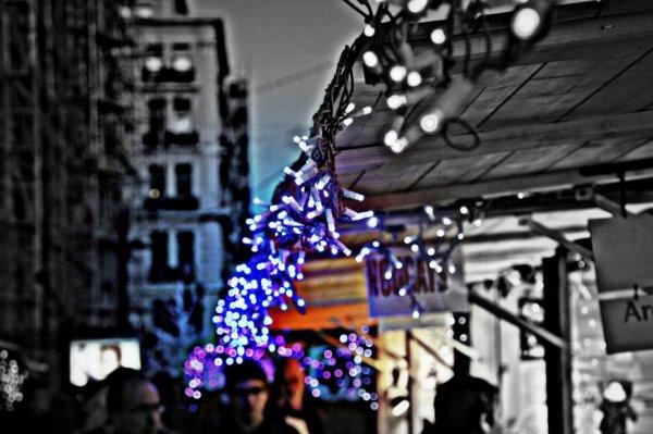 Les chalets de noel a Marseille