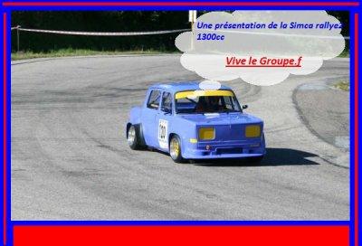Présentation de la Simca rallye 2.