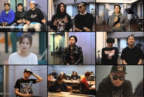 "Gil (LeeSsang), Zico (Block B), Double K, Swings et autres artistes collaborent pour ""Brilliant is"""
