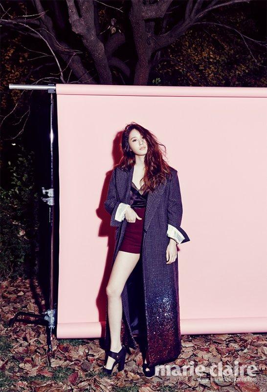 Krystal [f(x)] a posé pour le magazine Marie Claire