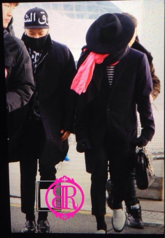 France: G-Dragon et Taeyang de BIGBANG sont à Paris
