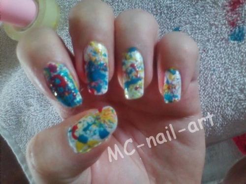 Nail art ~ Abstrait