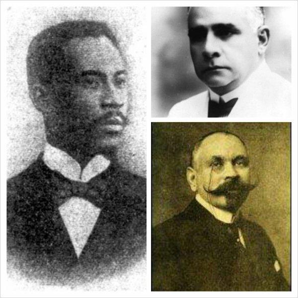 Justin Lherisson, Fernand Hibbert, Frederic Marcelin