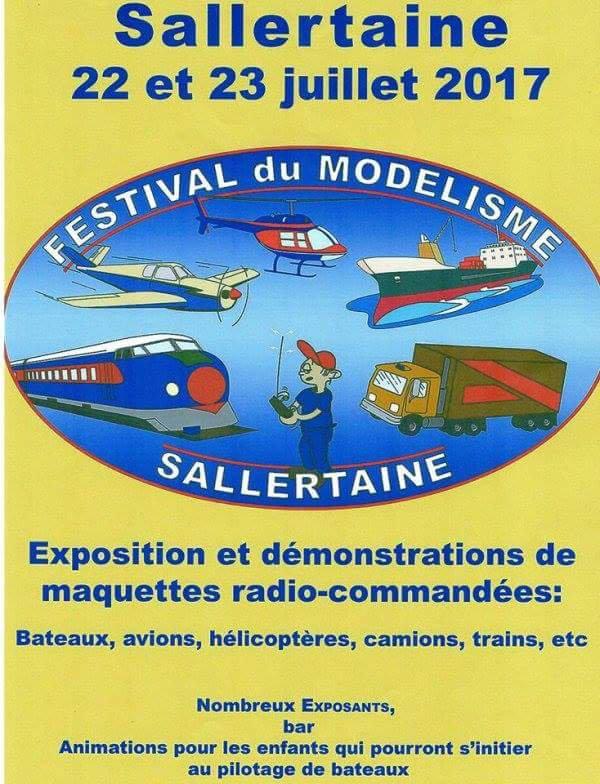 Retrouvez nous au 10 ème festival du modelisme et de maquettes à Sallertaine (85) avec une partie de la maquette FALCKI au 1/10ème