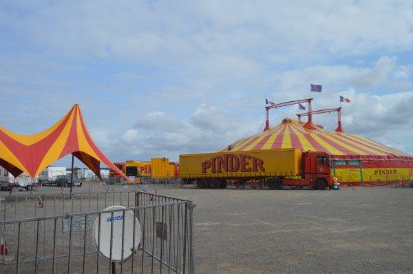 le cirque PINDER au Sables d'olonne 2017