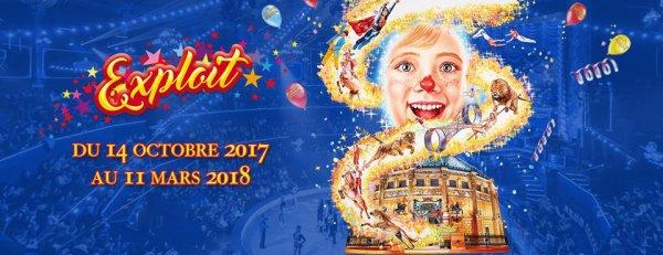 nouveaux visuels et affiche du cirque d'hiver BOUGLIONE. Photos via fcbk cirque d'hiver