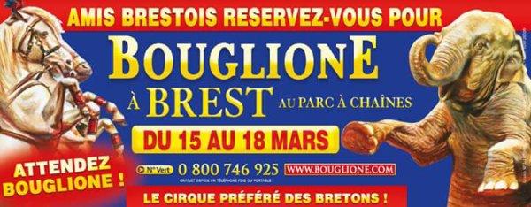 Bouglione la semaine prochaine à Brest