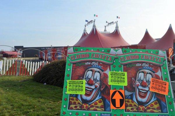 Le cirque claudio ZAVATTA à LA ROCHE SUR YON dès la semaine prochaine!!!