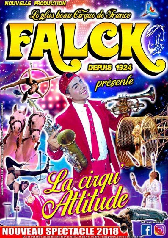 Programme du cirque FALCK 2018