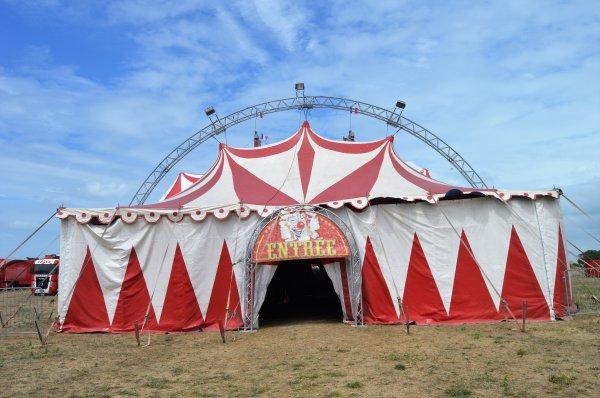 Le cirque FALCK Saint MARTIN de RE 2018