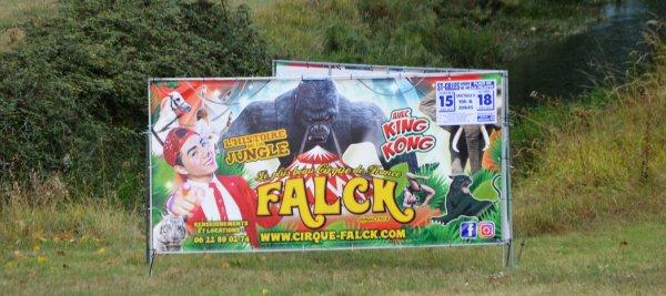 Le cirque FALCK St Gilles X de Vie  2018 arrivée!!!!