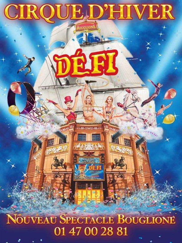 """Le navire amiral des cirques français présente la nouvelle affiche du spectacle 2019/2020 pour les 20ans de """"défit"""" depuis la reprise en 1999 par la nouvelle génération des Bouglione"""