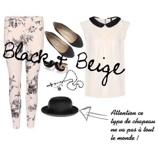 Black & Beige ♥