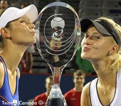 Tennis : Mladenovic remporte le double à Montréal