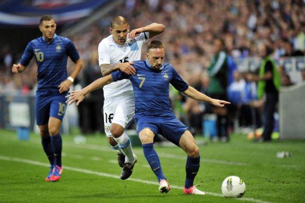 Football : nul malchanceux pour les Bleus