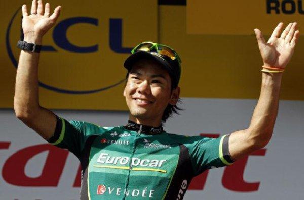 Cyclisme : le Tour du Limousin pour un japonais