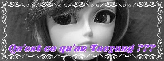 Taeyang kézako ???