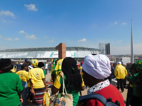 Special Official Funeral of Mama Winnie Madikizela Mandela at Orlando Stadium.