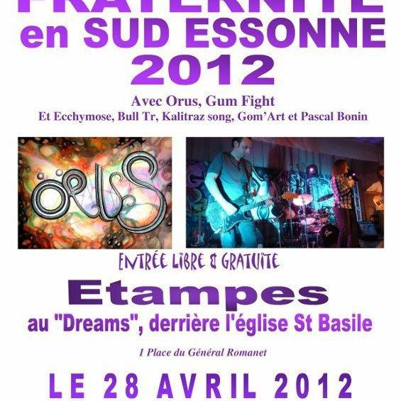 Fraternité Sud Essonne 2012 avec Bull.T.R à Etampes le 28 avril 2012